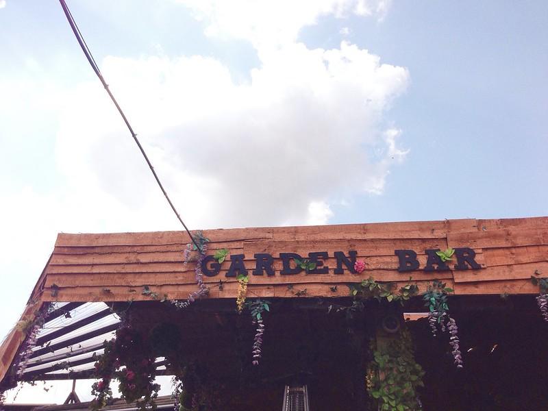 Nguyen, Dana; London, England - A Market Full of Great Expectations, The Garden Bar at Camden Market