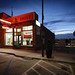 Small Town Drug Store II by Notley Hawkins
