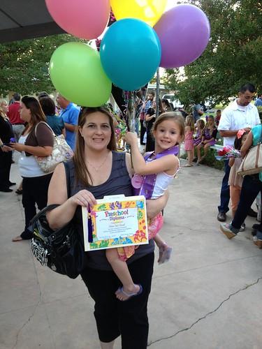 Olivia's preschool graduation