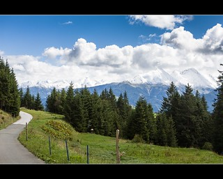 Austria , near Pass Thurn