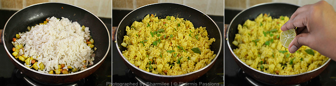 Aloo Poha Recipe - Step3