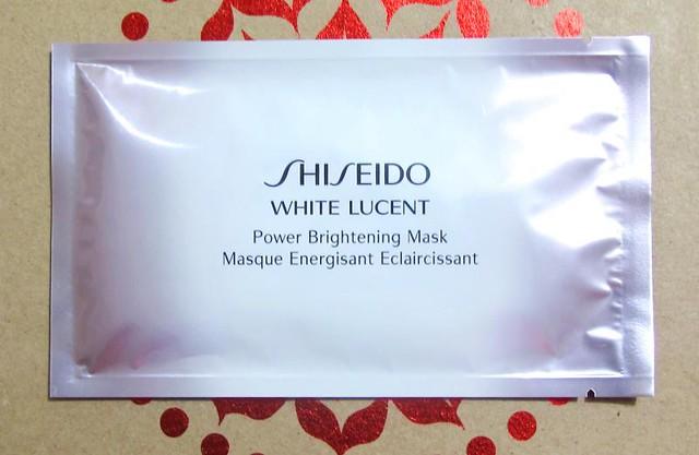 Shiseido Week: White Lucent Power Brightening Mask — Project Vanity