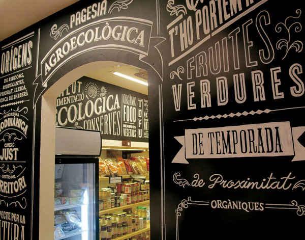 decoraciones de interiores con tipografías