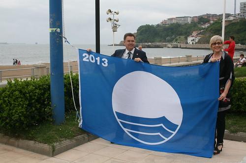 Bandera urdina / bandera Azul