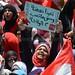 A Protester Chants Slogans In Tahrir square by Haleem Elsha3rani حليم الشعراني