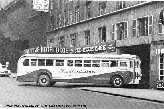 The 1930s Bus Station Hidden In A Times Square Hotel