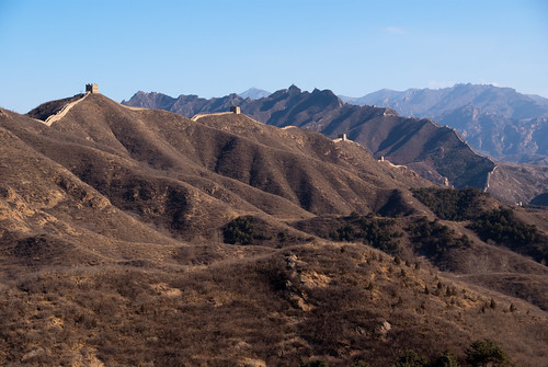 Meandering Jinshanling Great Wall