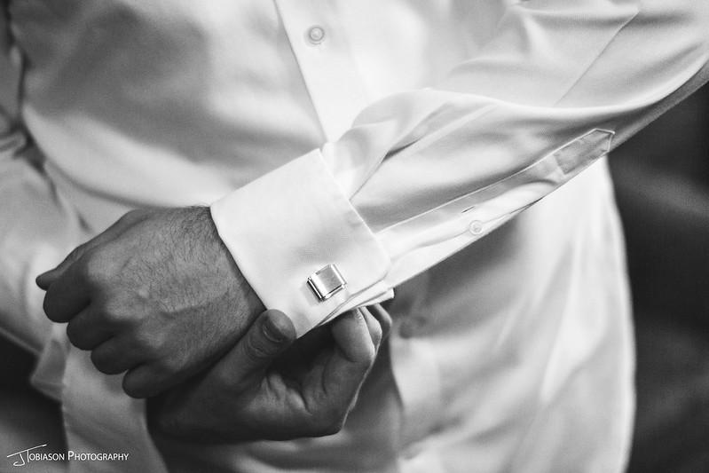 Groom cuffs