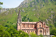 Covadonga Cathedral - Asturias, Spain