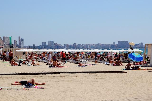 Alicante Playa Postiguet