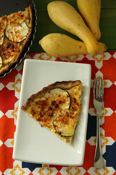 9325473725 004e6ba6c1 z Soul Searching Saturday with a Savory Summer Squash Tart