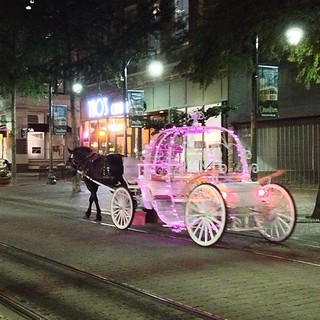 2013-07-09; Where's Cinderella? Horse & Carriage on Main Street - Downtown, Memphis TN #downtownmemphis #downtownmemphistn #memphis #memphistn #downtown #horseandcarriage #horse #carriage #mainstreet
