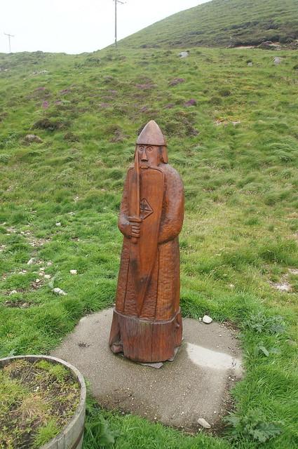 Carved Lewis Chessman - Abhainn Dearg Distillery
