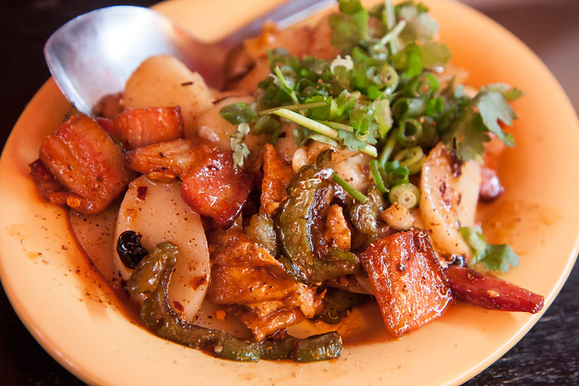 Thrice-cooked bacon, Mission Chinese