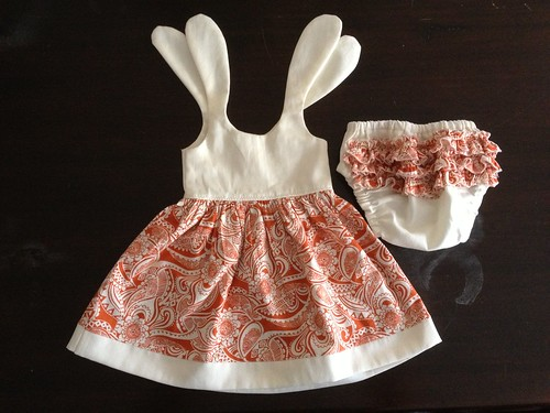 Baby Dresses with Bloomers (0-3 mos)