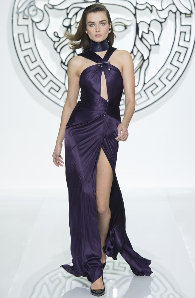 dress5 VERSACE Women's FW1314
