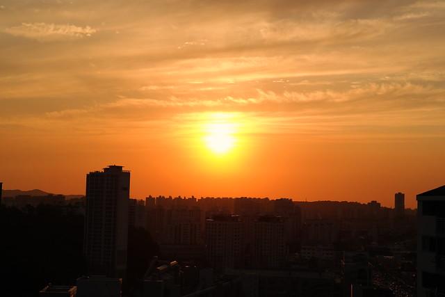 Samsung NX300雜拍 夕陽