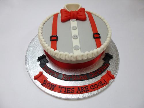 Fantastic Bow Tie Cake Beautiful Birthday Cakes Personalised Birthday Cards Epsylily Jamesorg