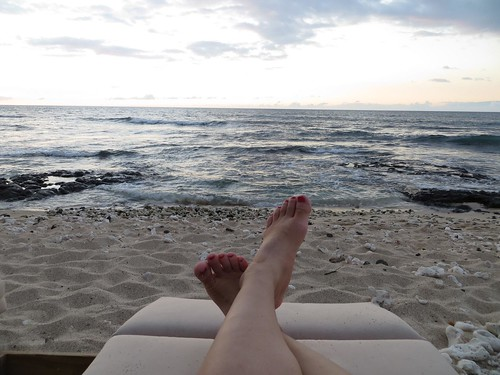 Feet Up, Four Seasons Hualalai