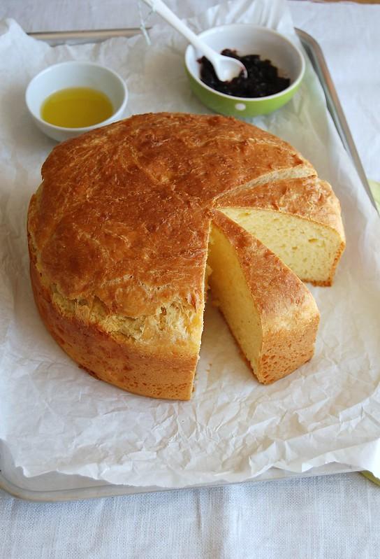 Umbrian cheese bread / Pão de queijos da Úmbria