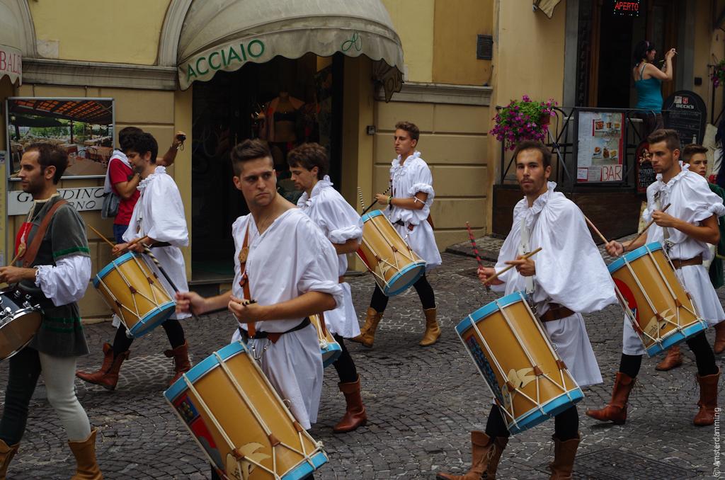 Italy, Medieval Festival in Gubbio
