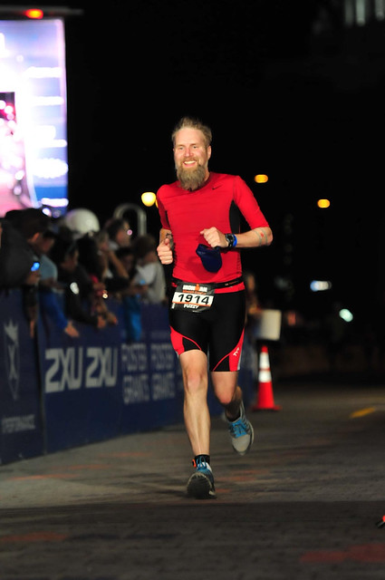 Fuzzy Gerdes at Ironman Wisconsin 2013