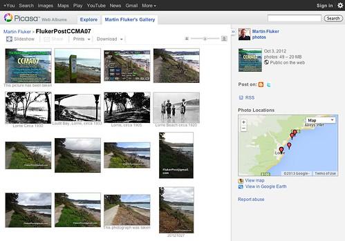 Martin Fluker's Flukerposts Picasa Web Albums