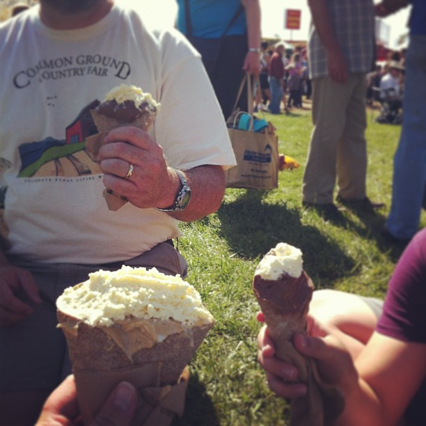 Pie Cone Reunion #cgcf2013 #commonground