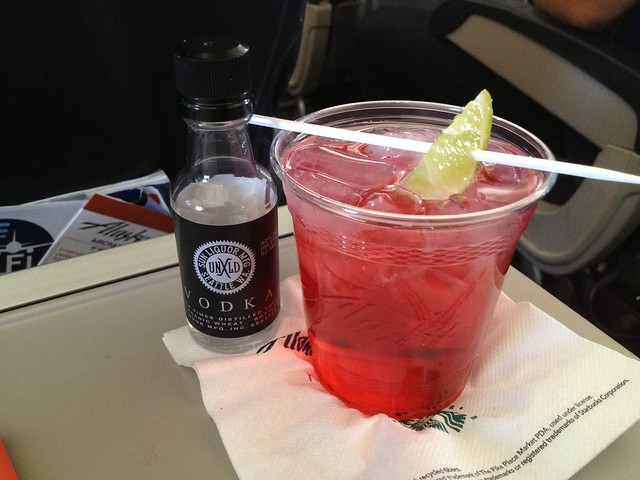 Good deed cocktail - United Airlines
