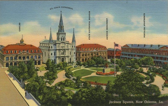Artistic rendition of Jackson Square