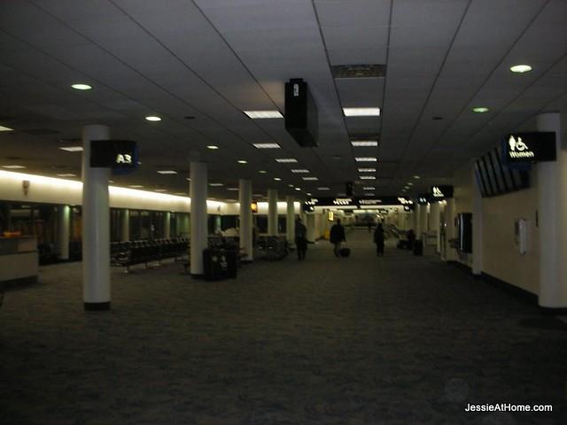 Empty-airport