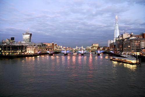 View from Millenium Bridge
