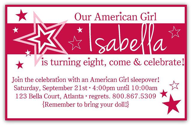 An American Girl Birthday Party Pinafores Pinwheels