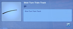 Slow Turn Train Track