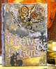 Brews and potions Halloween decor altered book by Asia King