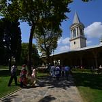 Jardines del palacio Topkapi
