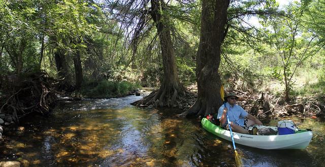 Cody's Kayak approaching Sleepy Hollow
