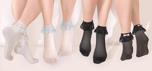 .tsg. Frilly Lace Socks @ Perfect Wardrobe by Eilfie Sugarplum