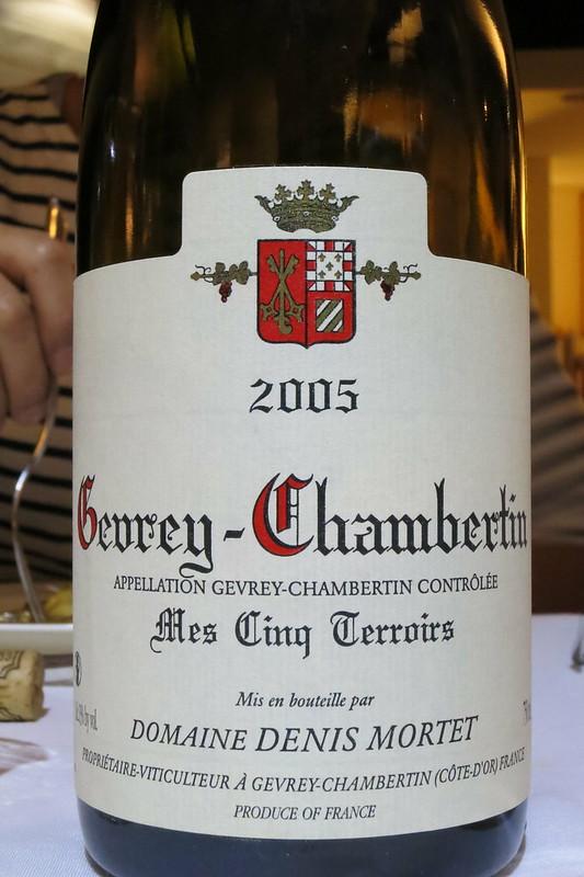 Domaine Denis Mortet Gevrey-Chambertin 2005 Mes Cinq Terroirs