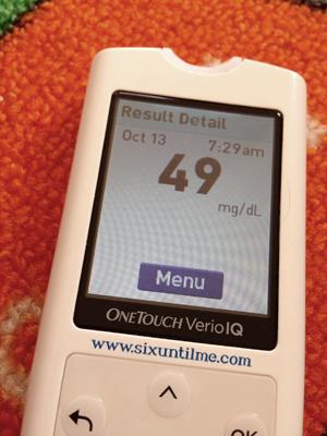 What A Low Blood Sugar Feels Like  | Six Until Me – diabetes