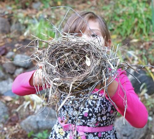 Aiyana with Nest