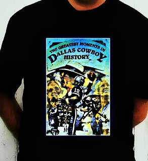 Dallas Cowboys Greatest Moments In History T-shirt
