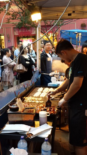 Chinatown Night Market: Grilled Calamari