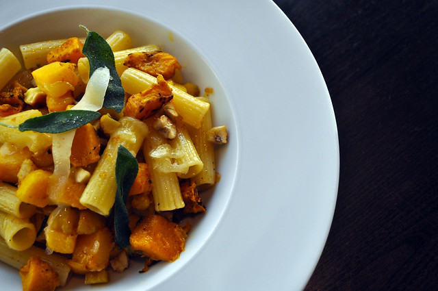 Pumpkin And Fire-Roasted Chestnut Rigatoni
