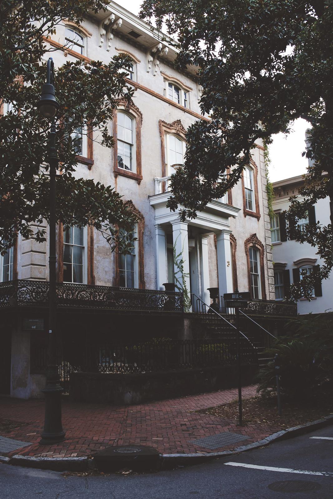 Bull street, Savannah, Georgia
