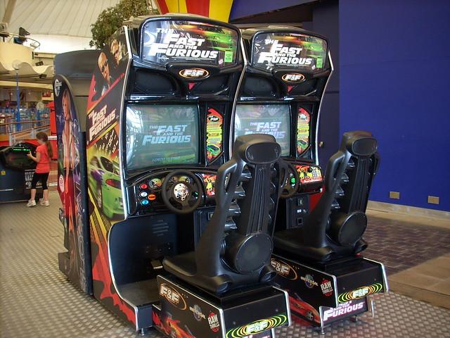 fast and furious arcade machine