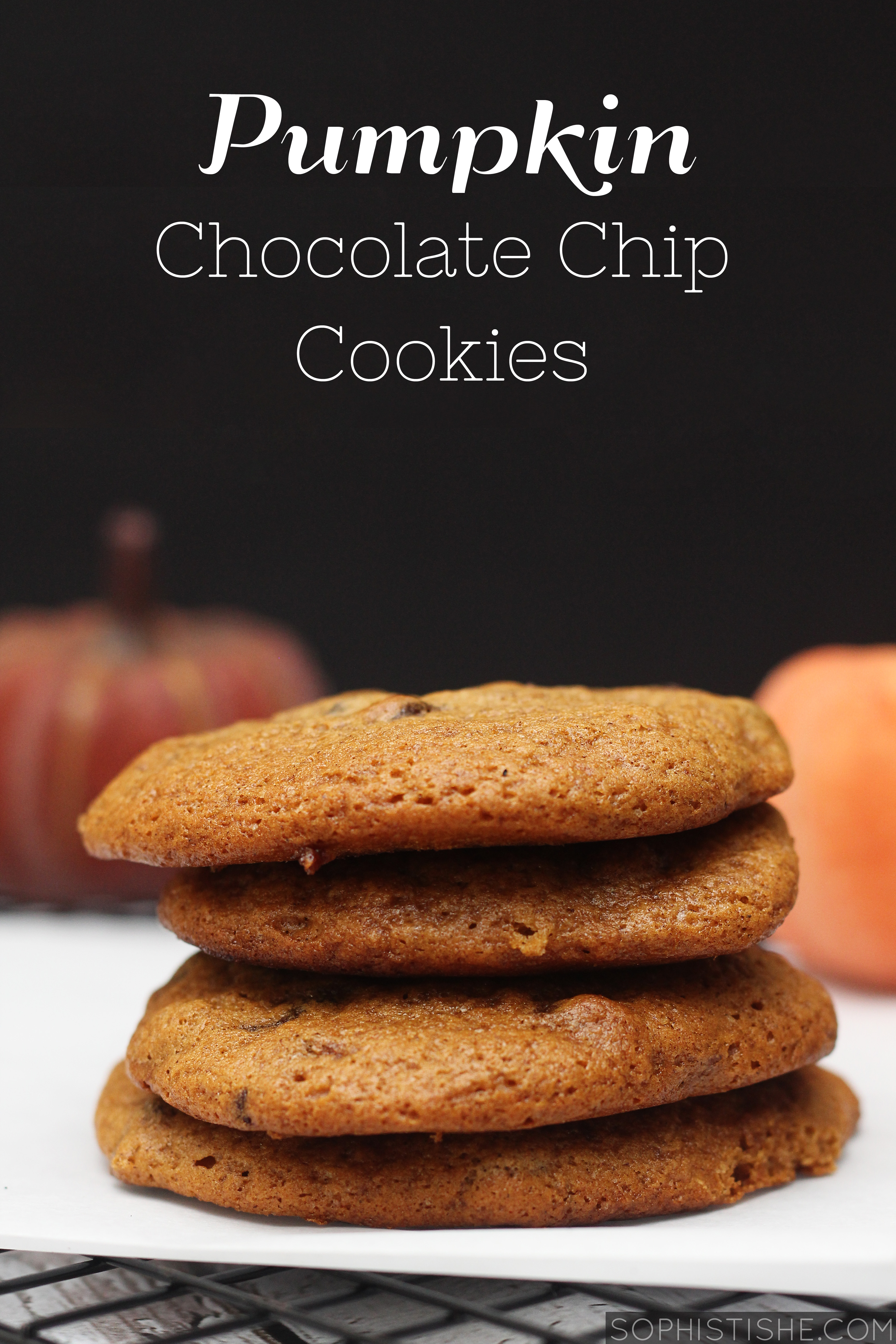 pumpkinchocolatechipcookies