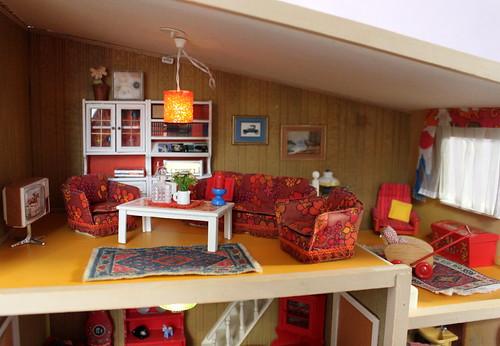 Lundby living room - Wohnzimmer
