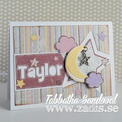 Taylor Baby Card