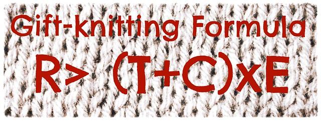 Gift-knitting formula
